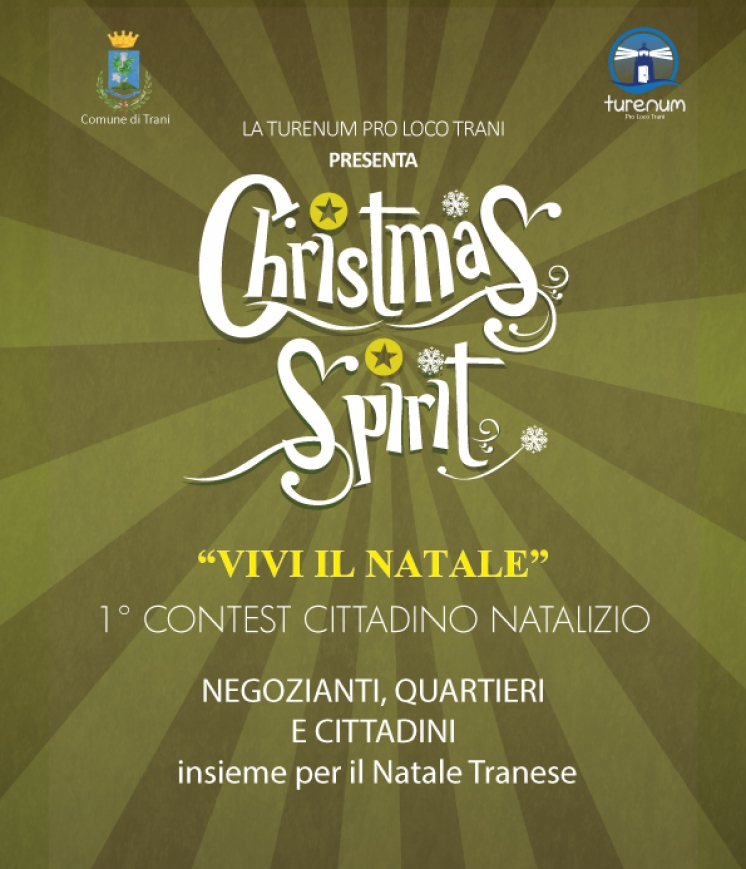 "CHRISTMAS SPIRIT -  Elenco comitati iscritti categoria ""Presepi di quartiere"""